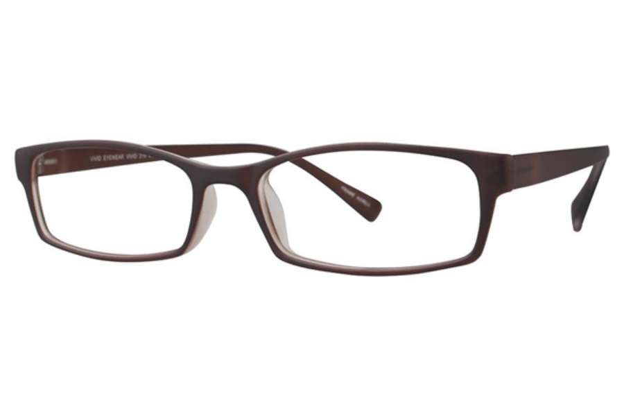 Vivid TR90 218 Eyeglasses in Brown Matte